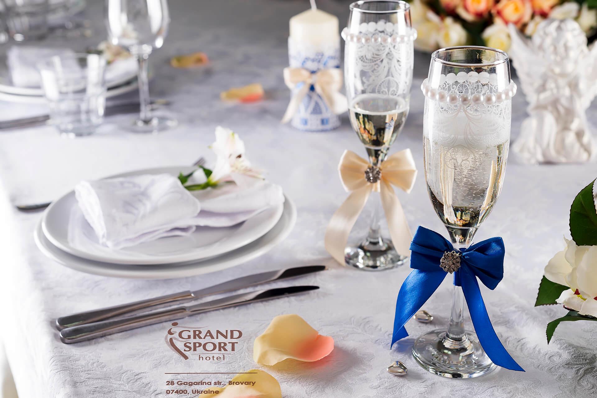 зал для свадьбы Бровары